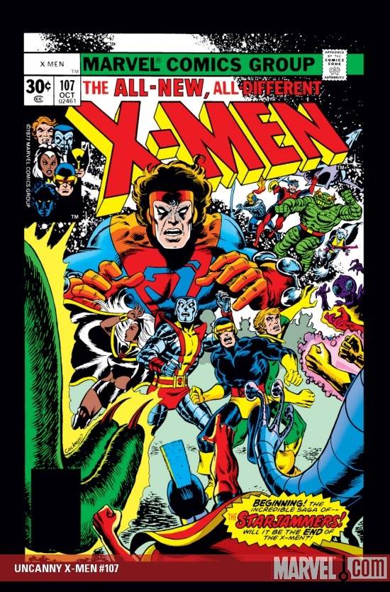 UNCANNY X-MEN #107