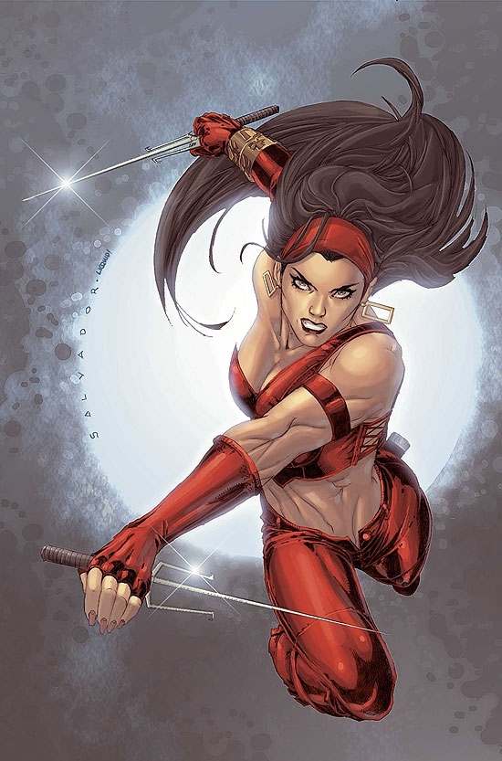 ULTIMATE ELEKTRA (2005) #5 COVER