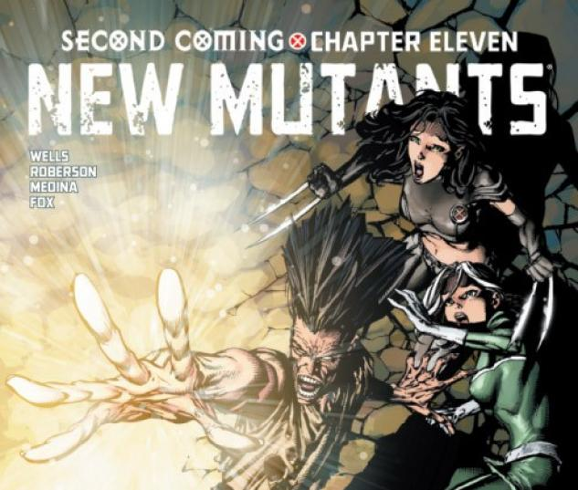 NEW MUTANTS #14 variant cover by David Finch