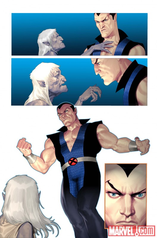 NAMOR: THE FIRST MUTANT #1 preview art by Ariel Olivetti 2