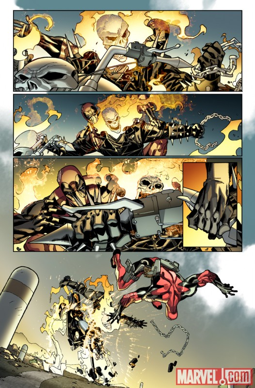 DEADPOOL #26 preview art by Carlo Barberi 2