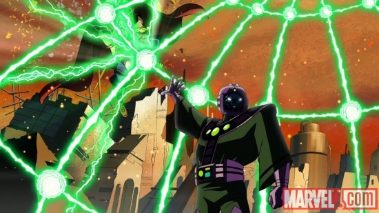 Kang vs. Thor from The Avengers: Earth's Mightiest Heroes!