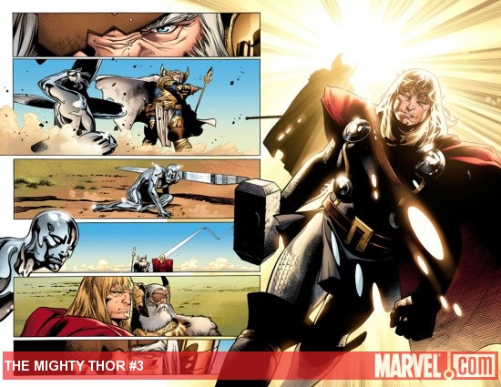 The Mighty Thor #3 preview art by Olivier Coipel