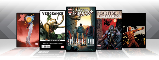 Marvel Comics App: Latest Titles 11/2/11