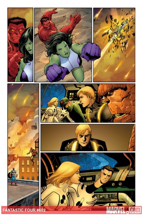 Fantastic Four #602 preview art by Barry Kitson