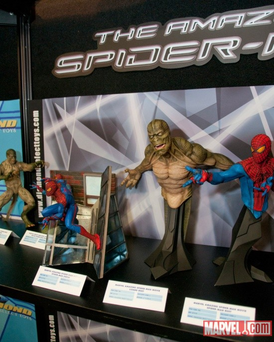 Diamond Select Toys Spider-Man and the Lizard