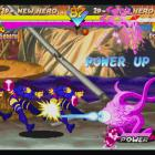 Screenshot of Shuma-Gorath vs. Psylocke in Marvel vs. Capcom Origins