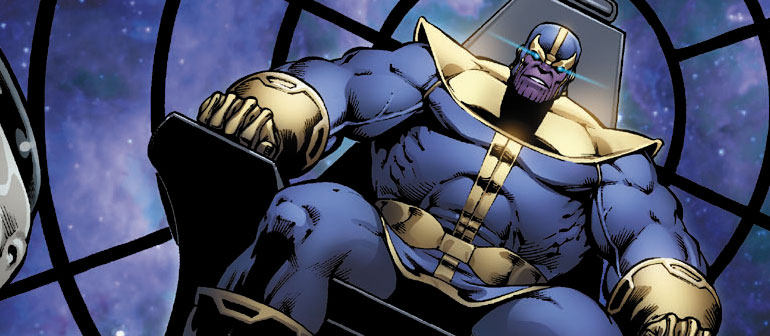 Titans Collide in Hulk Vs. Thanos