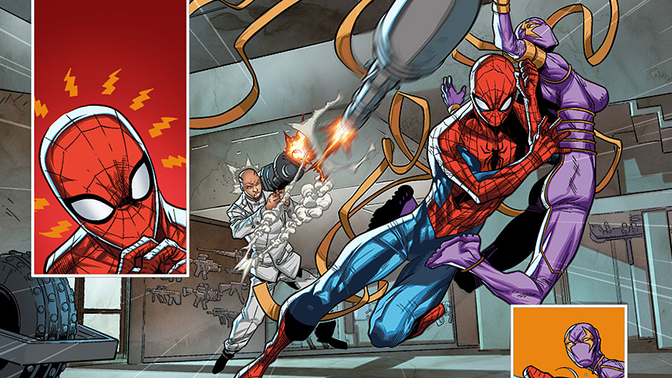 Amazing Spider-Man #16.1 preview art by Carlo Barberi