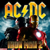 AC/DC: Iron Man 2 album cover art