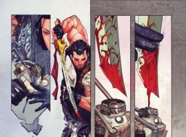 Preview Art By Kenneth Rocafort