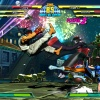 Screenshot of Ryu vs. Hsien-Ko and Chun-Li in Shadow Mode in Marvel vs. Capcom 3