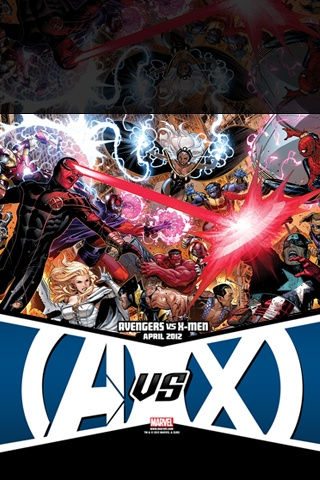 Avengers vs X-Men #1 iPhone Wallpaper