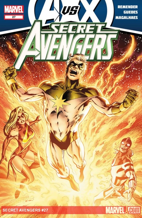 Secret Avengers #27 cover art by Alan Davis