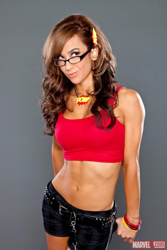 WWE Diva AJ (photo courtesy of WWE)