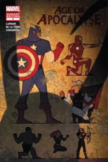 Age of Apocalypse (2011) #2 (Avengers Art Appreciation Variant)
