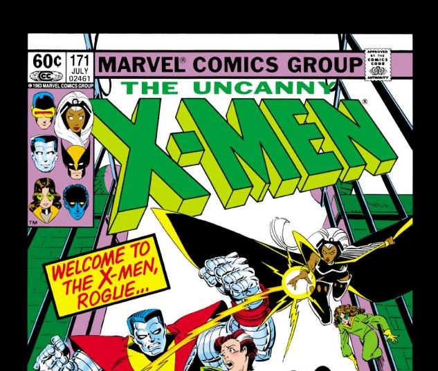 Uncanny X-Men (1963) #171 Cover