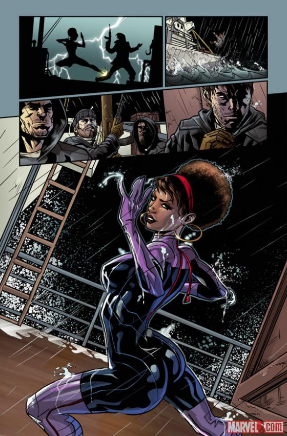 Fearless Defenders #1 preview art by Will Sliney
