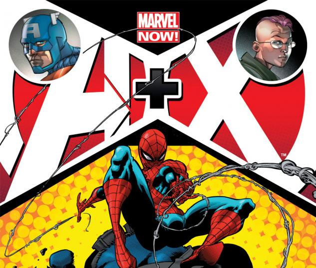 A+X (2012) #4 Cover