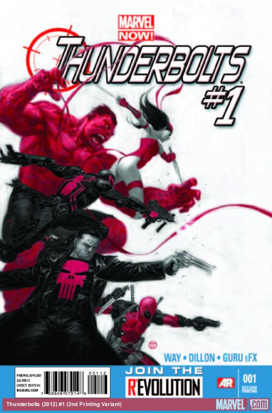THUNDERBOLTS 1 2ND PRINTING VARIANT