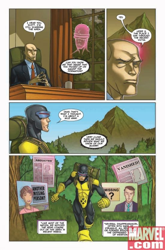 X-MEN: FIRST CLASS #10, page 5