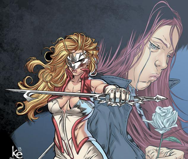 DAUGHTERS OF THE DRAGON (2008) #4 COVER