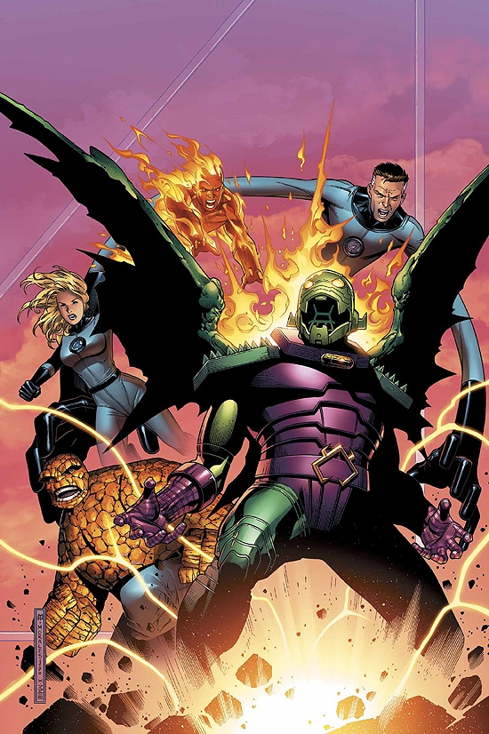 FANTASTIC FOUR: FOES (2005) #2 COVER