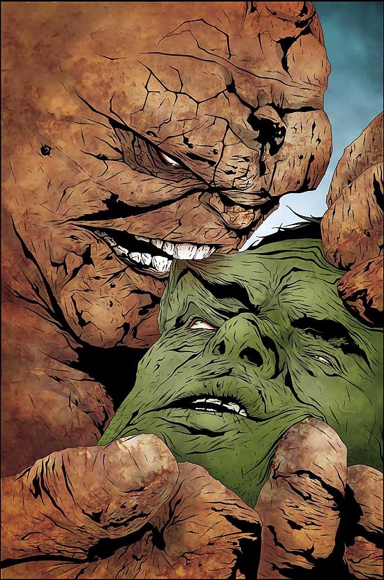 HULK & THING: HARD KNOCKS (2005) #2 COVER