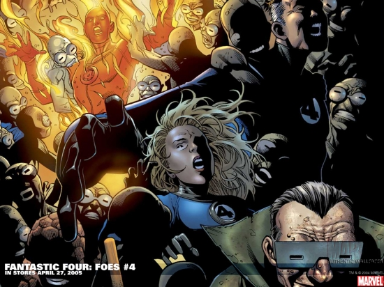 Fantastic Four: Foes (2005) #4 Wallpaper