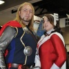 San Diego Comic-Con 2011: Thor & Sif Costumers at the Marvel Booth