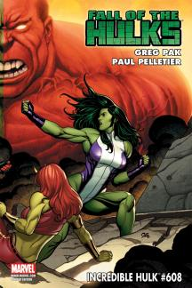 Incredible Hulks (2009) #608 (VARIANT)