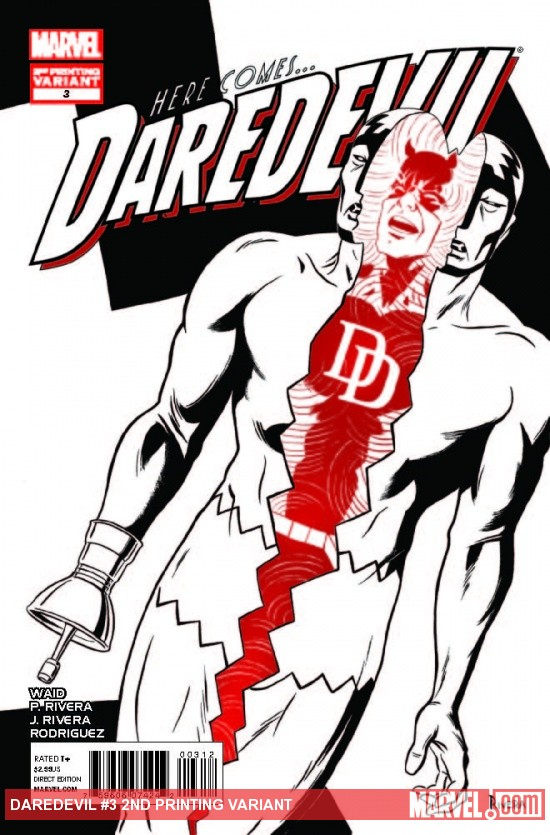 DAREDEVIL 3 2ND PRINTING VARIANT