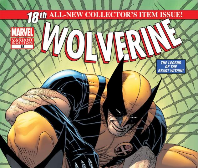 Wolverine (2010) #18, Mc 50th Anniversary Variant