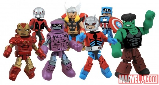 Marvel Minimates Wave 44 from Diamond Select Toys