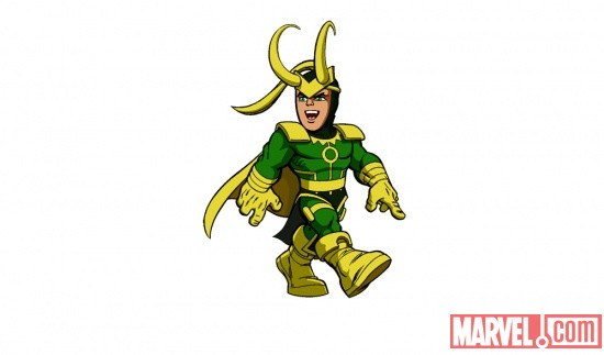 Loki from The Super Hero Squad Show