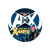Avengers VS X-Men X-Men button