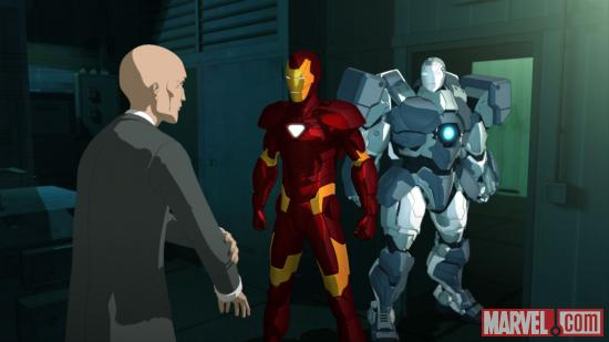 Screenshot from Iron Man: Armored Adventures Season 2, Vol. 1