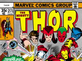 Thor (1966) #271 Cover