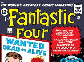 Fantastic Four (1961) #7 Cover