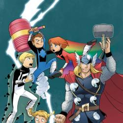 Thor and the Warriors Four (2010)