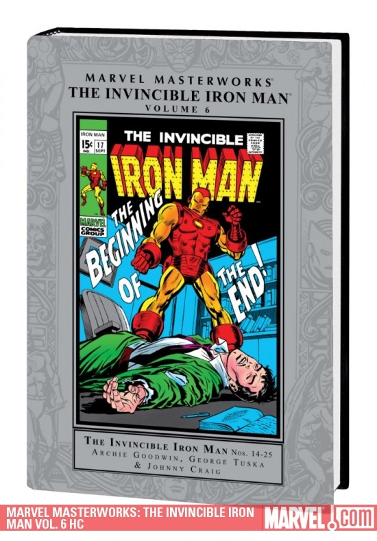 MARVEL MASTERWORKS: THE INVINCIBLE IRON MAN VOL. 6 HC