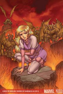 Lords of Avalon: Sword of Darkness #5