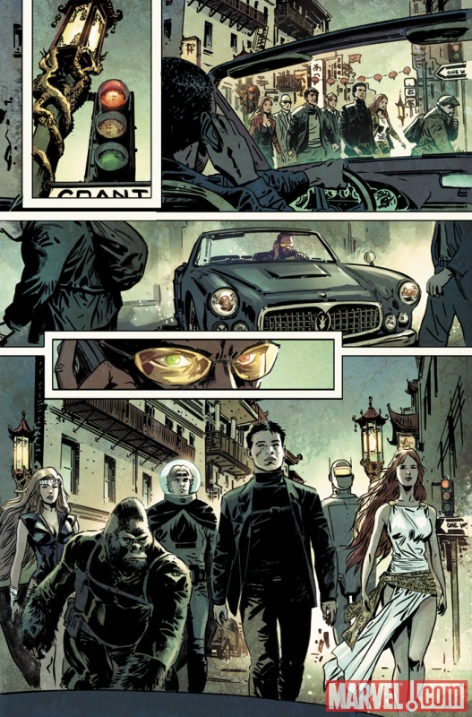 Image Featuring Gorilla Man, Jimmy Woo, Venus (Siren), Agents of Atlas, Namora