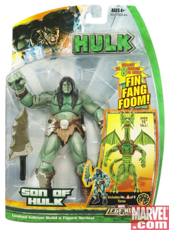 Marvel Legends Hulk Build-A-Figure Collection: Son of Hulk