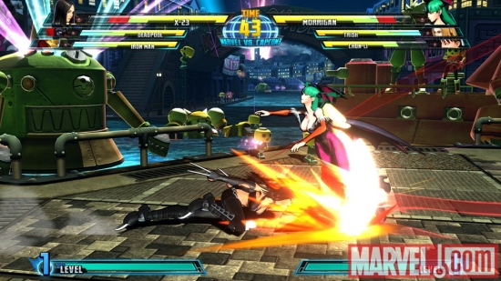 X-23 in Marvel vs. Capcom 3