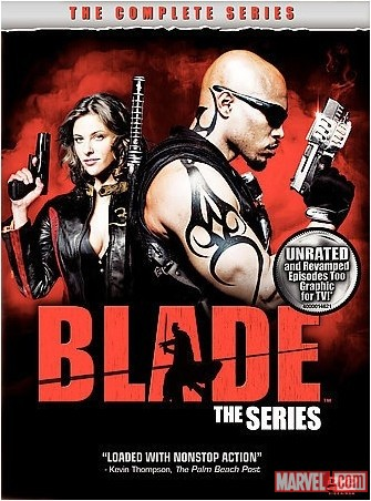 Blade: The Series DVD cover