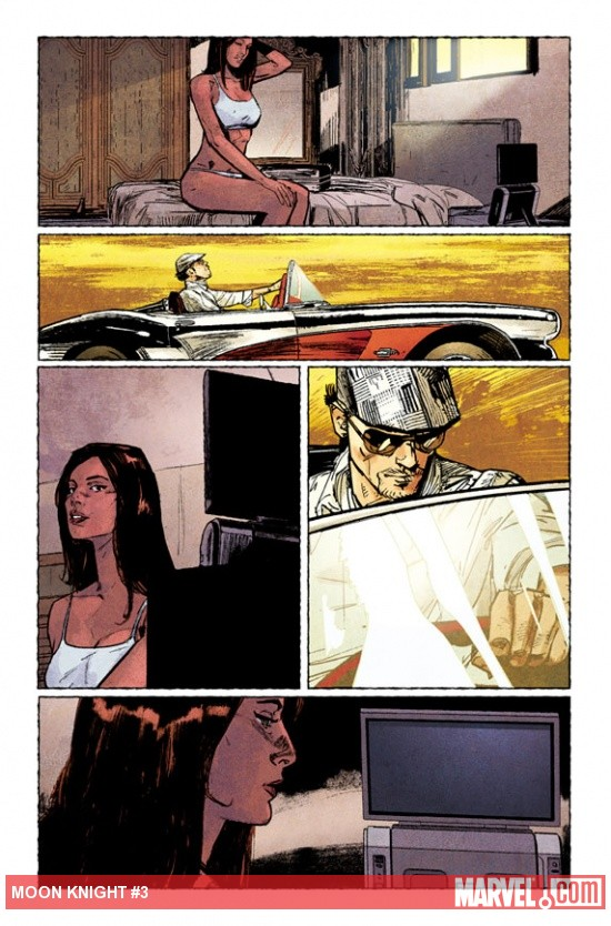 Moon Knight #3 Preview Art by Alex Maleev