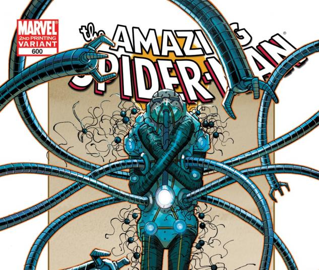 Amazing Spider-Man (1999) #600, 2nd Printing Variant