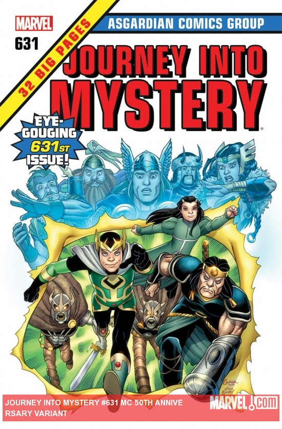 Journey Into Mystery (2011) #631, Mc 50th Anniversary Variant