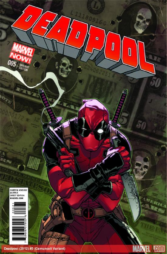 DEADPOOL 5 CAMUNCOLI VARIANT